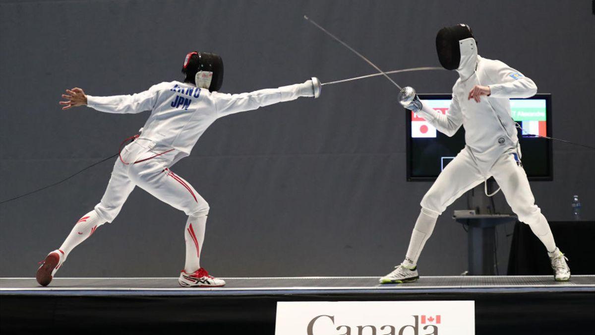 Grand Prix de Doha d'épée : Alexandre Bardenet battu en finale par Sergey Bida