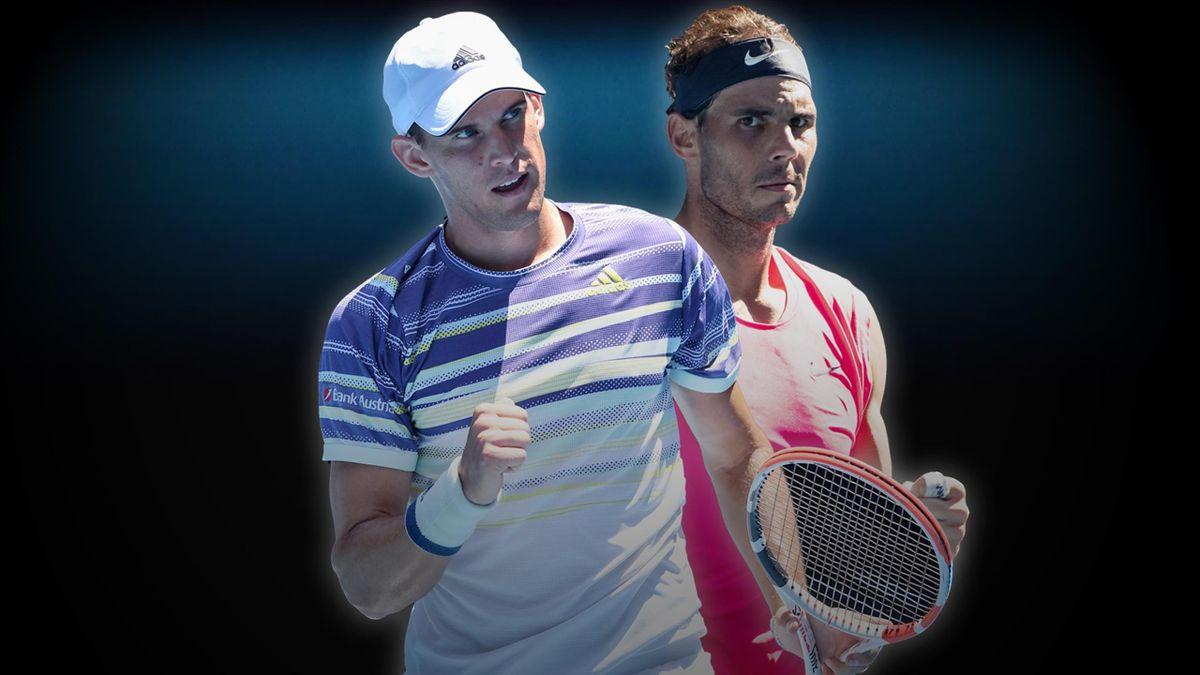 Domenic Thiem vs Rafael Nadal | Tennis | ESP Player Feature
