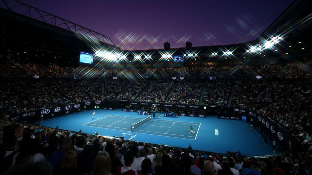 Rod Laver Arena en la final del Open de Australia