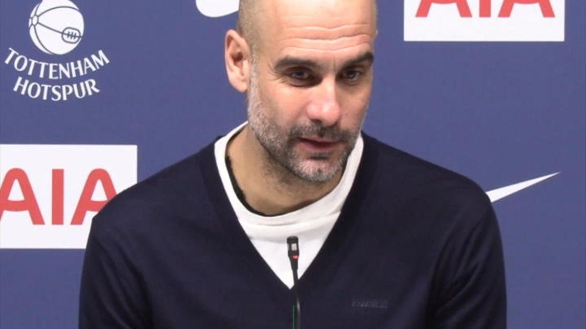 """25e j. - Guardiola : """"J'aime la façont l'équipe a joué. Mais ce n'est pas assez"""""""
