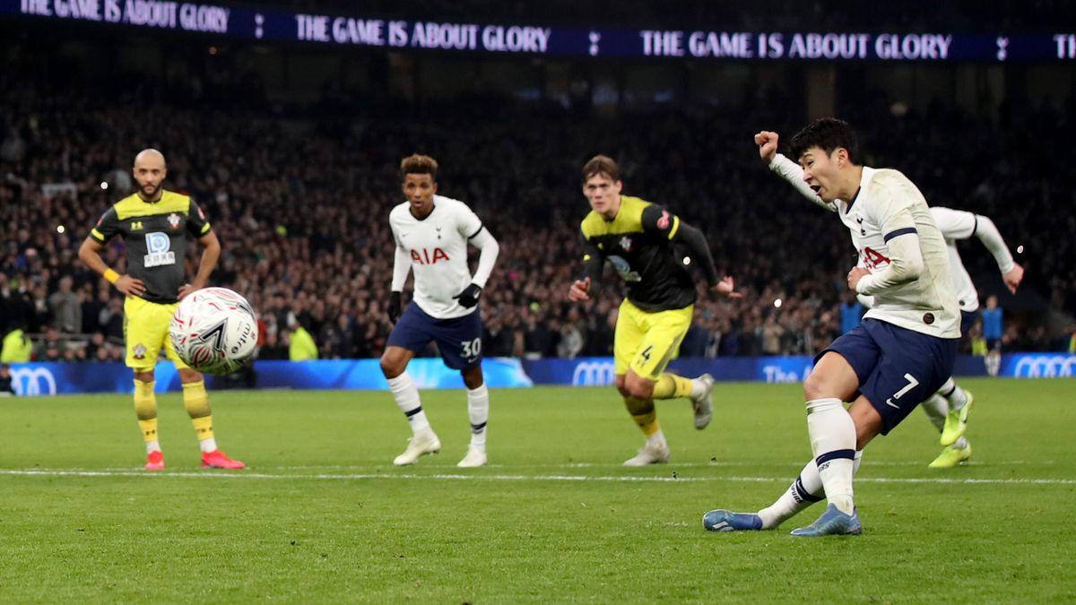Son Heung-min, Tottenham v Southampton
