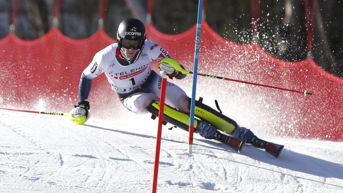 Skiing News Clement Noel Roars To Dramatic World Cup Victory On Home Snow In Chamonix Eurosport