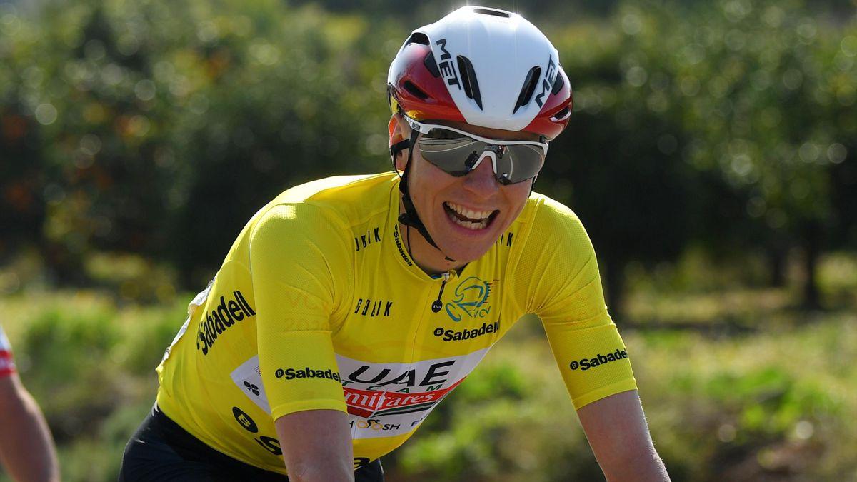 Tadej Pogacar, campeón de la Vuelta a la Comunidad Valenciana