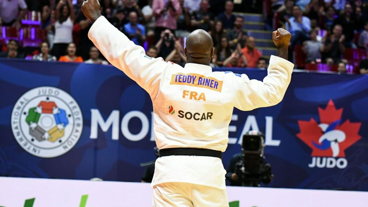 Riner's 10-year undefeated run ended by Japan's Kageura at IJF Paris Grand Slam