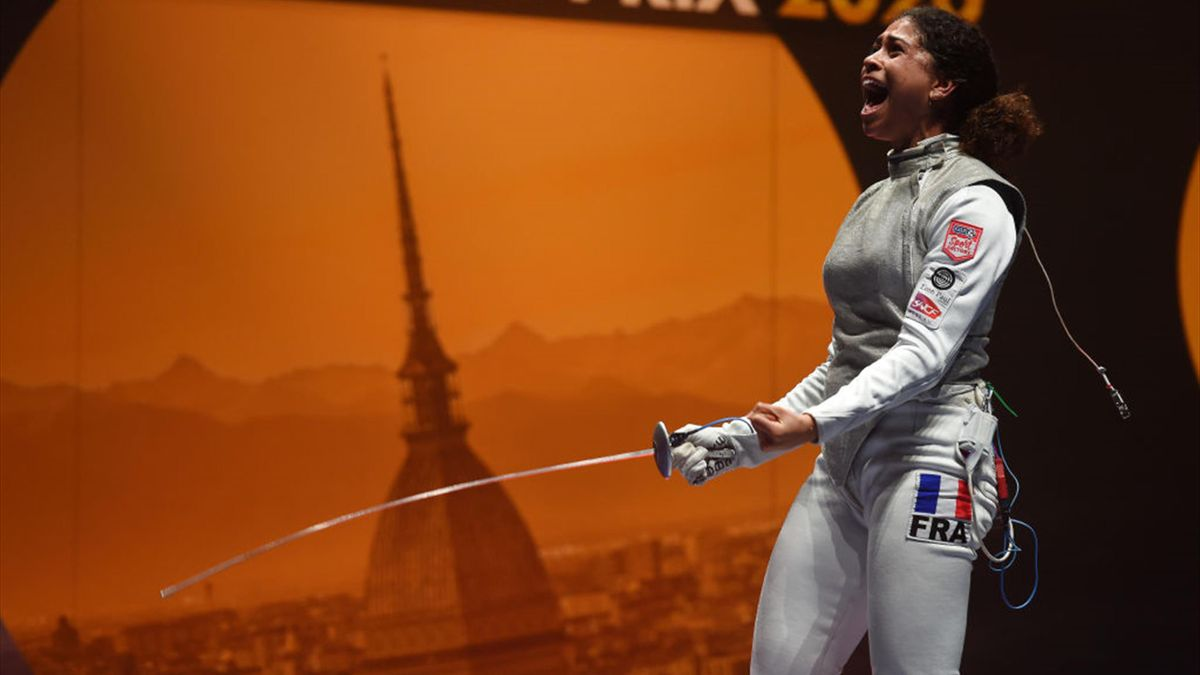 USA's Meinhardt and France's Thibus won gold medals at Turin Foil Fencing Grand Prix