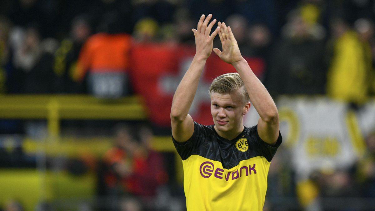 Haaland feierte ein starkes CL-Debüt für Dortmund