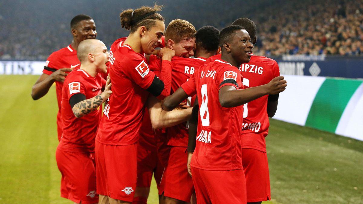 RB Leipzig gewinnt auf Schalke souverän mit 5:0