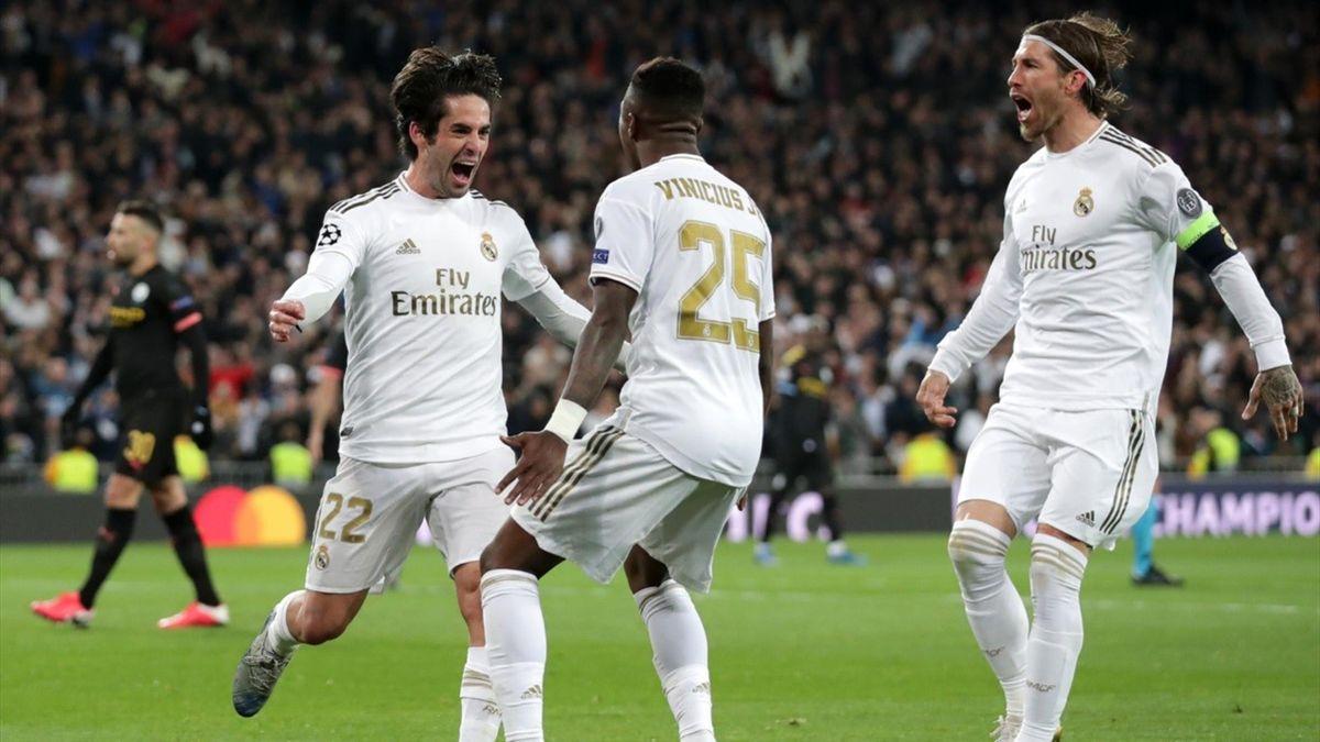 Isco en el Real Madrid Manchester City