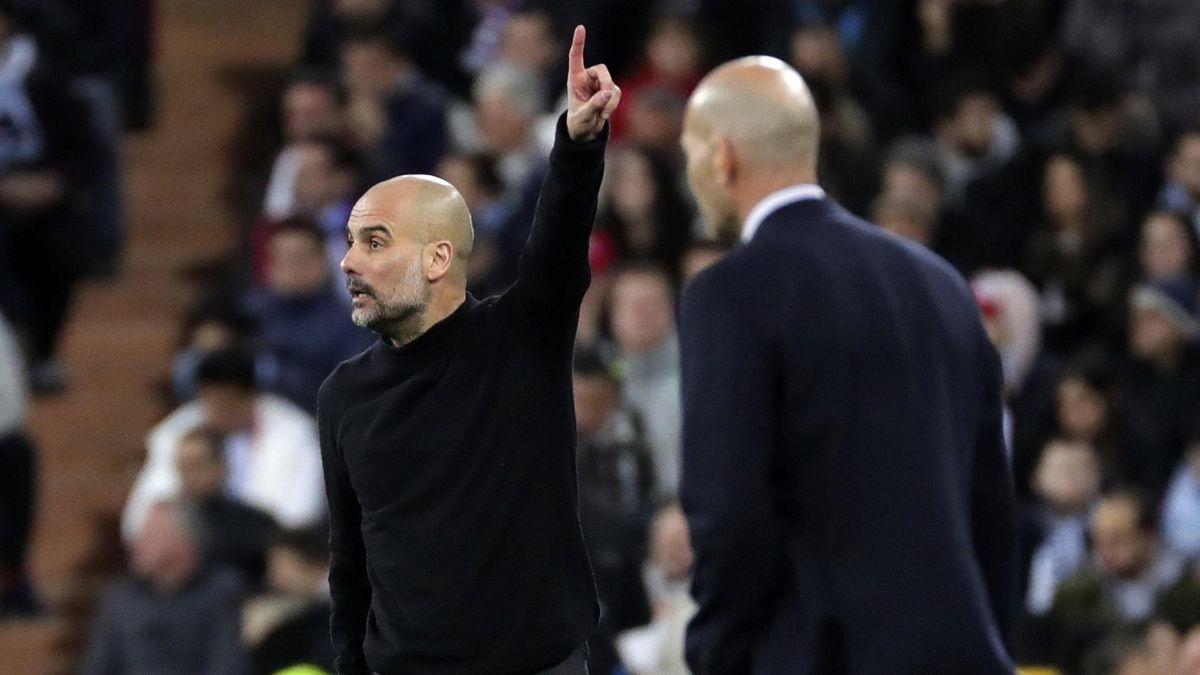 Guardiola en el Real Madrid Manchester City