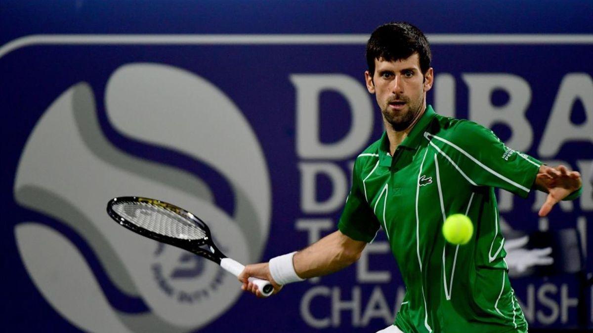 Djokovic en el ATP Dubái