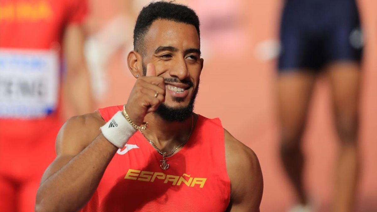 Orlando Ortega en el Mundial de Doha 2019