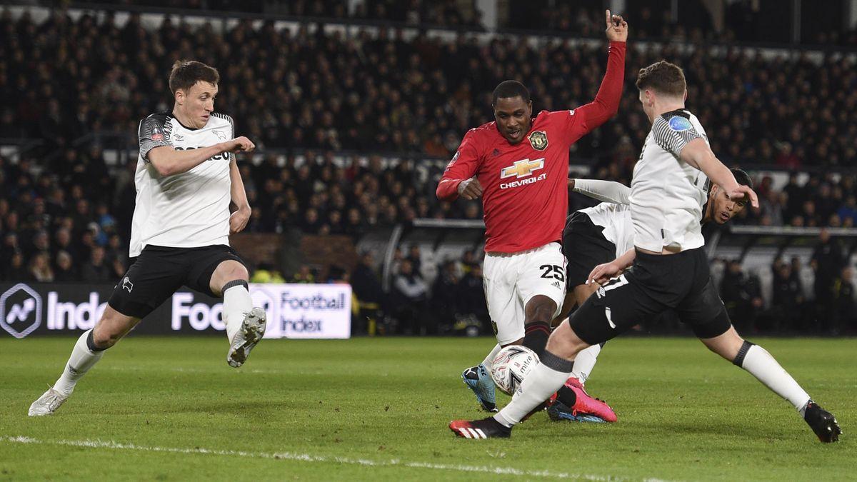 Odion Ighalo a avut evoluţii apreciate în tricoul lui United