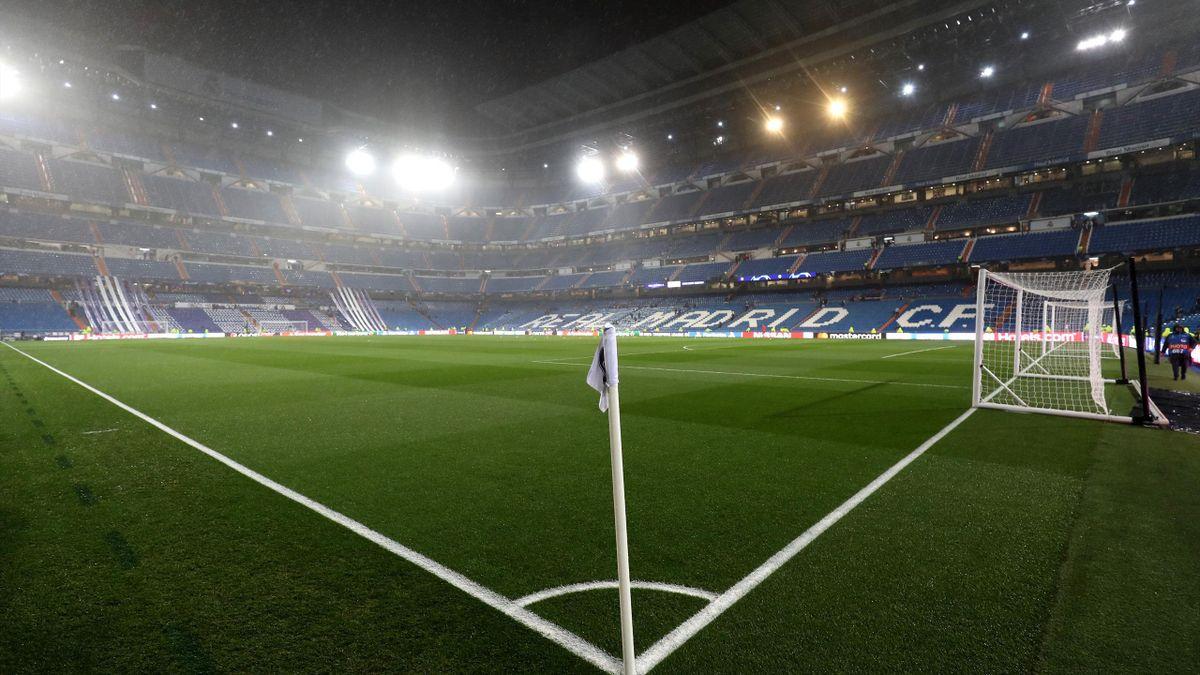 Estadio Santiago Bernabéu, vacío
