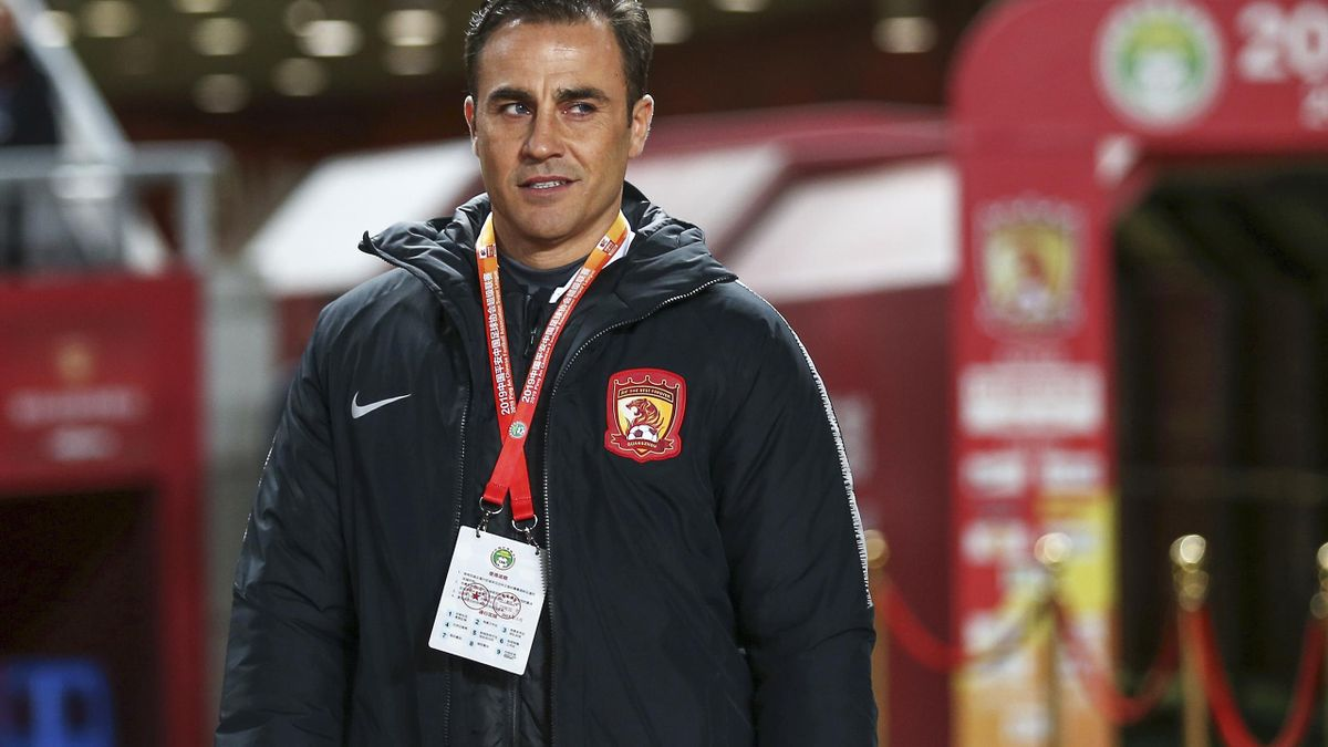 Guangzhou-Trainer Cannavaro muss in Quarantäne