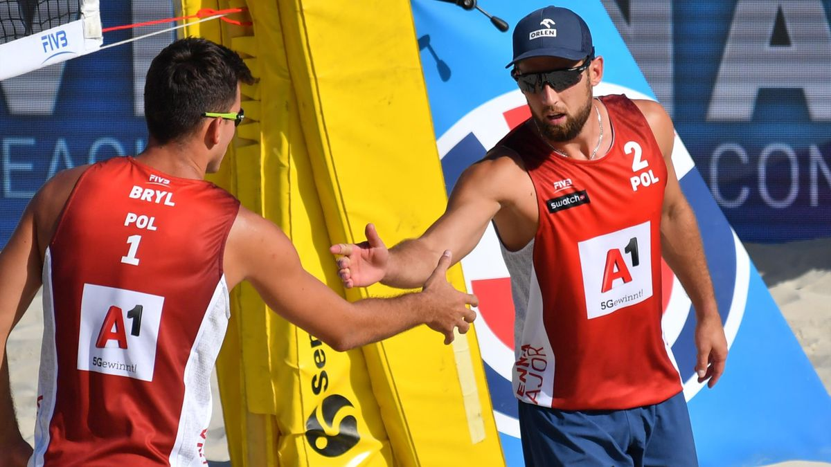 El equipo de Polonia gana la Copa internacional de voleibol playa 2020