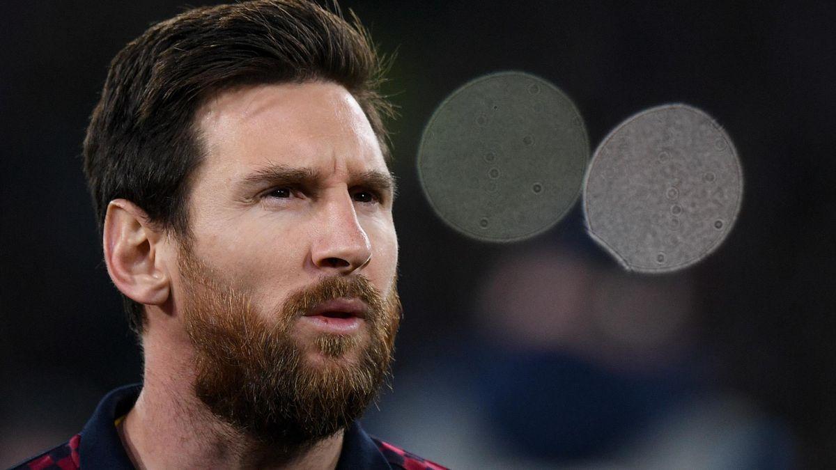 Weltstar Lionel Messi vom FC Barcelona