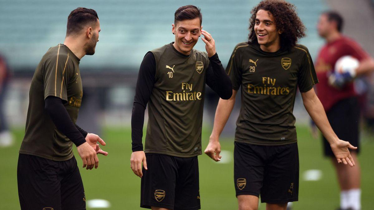 Arsenal, la antrenament