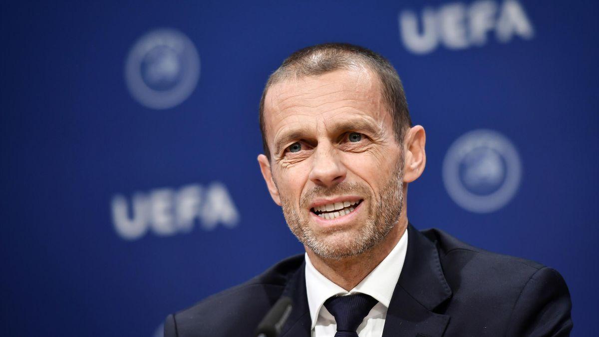 UEFA-Präsident Ceferin fordert Pläne
