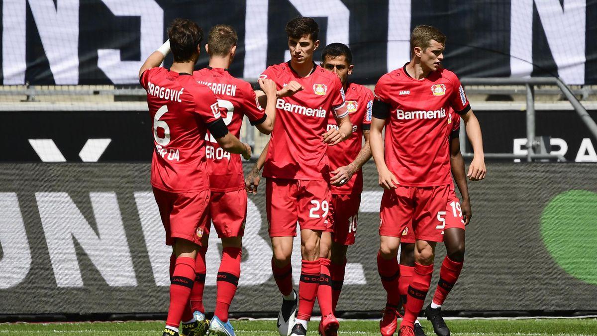 Kai Havertz, Borussia Monchengladbach v Bayer Leverkusen