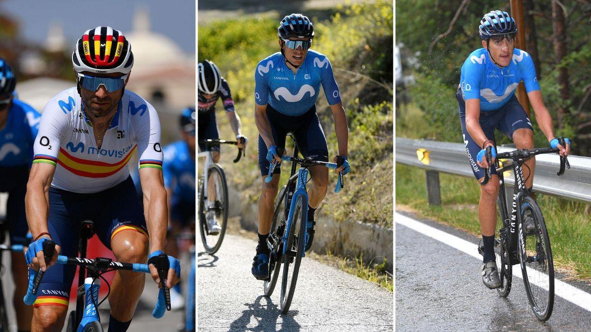 Valverde, Enric Mas y Marc Soler