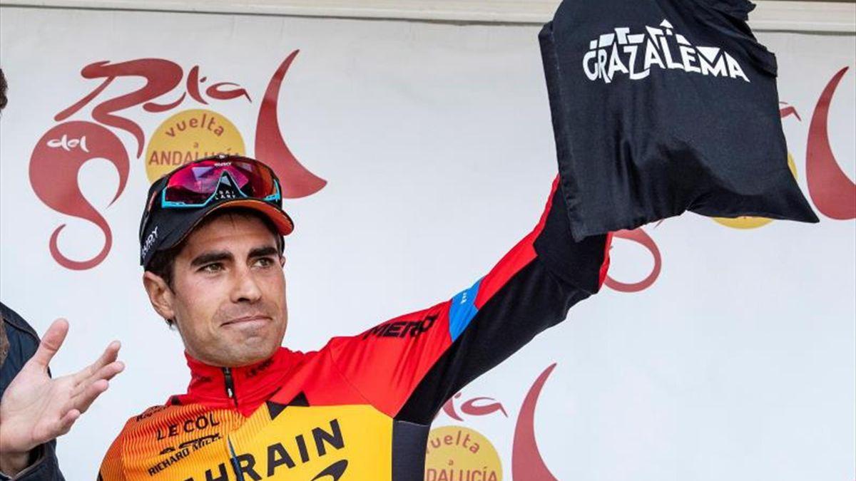 Mikel Landa en la Vuelta a Andalucía 2020