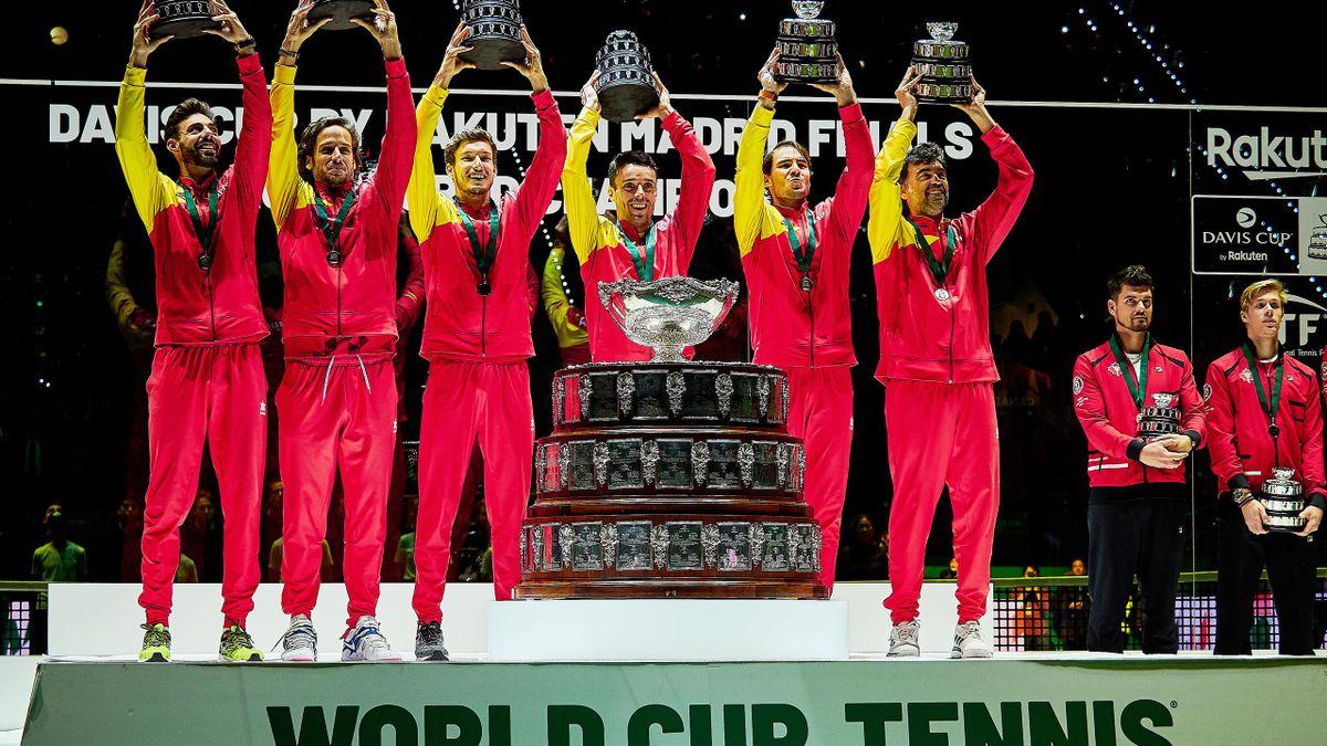 Das Finalturnier im Davis Cup wird erst 2021 ausgetragen