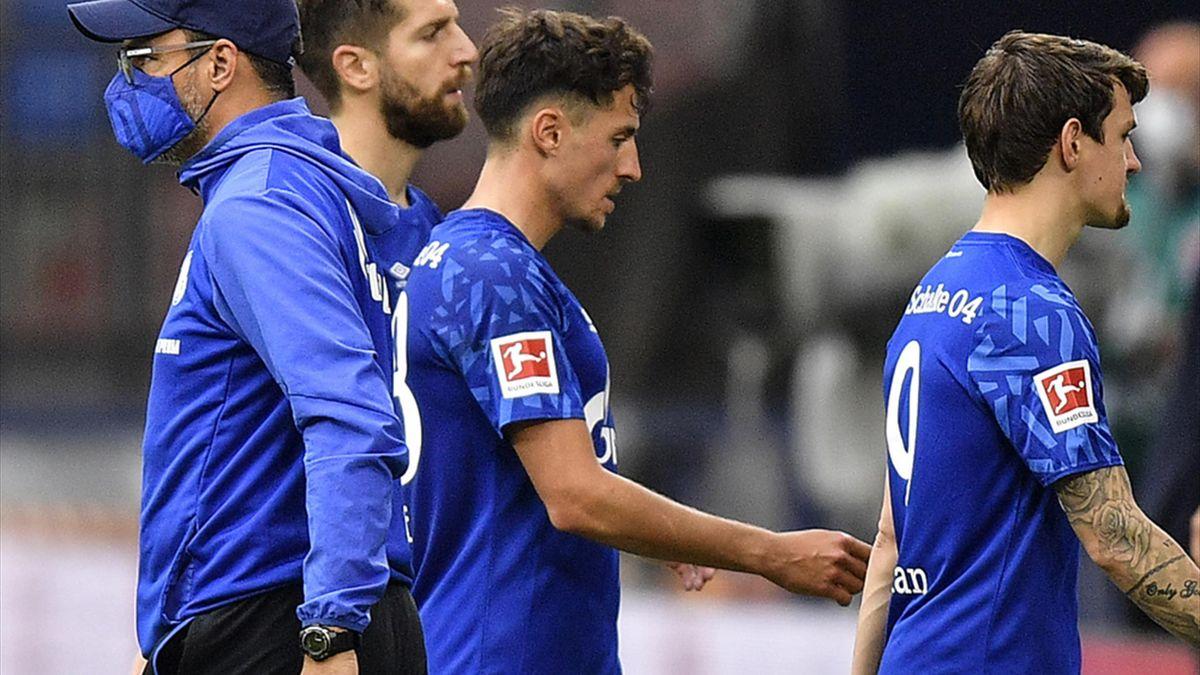 Schalke gelang in der Rückrunde nur ein Sieg