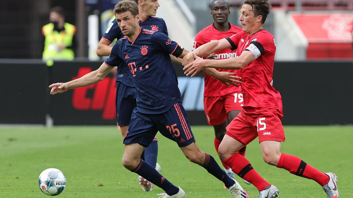 Bayern München siegt Anfang Juni mit 4:2 in Leverkusen