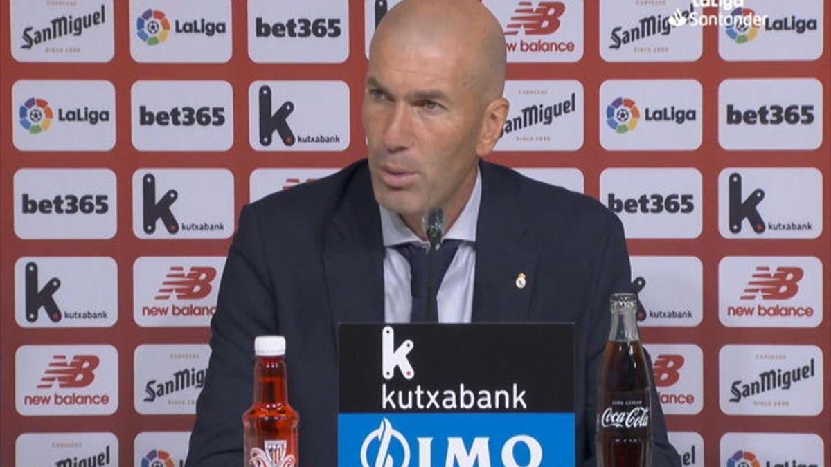 Zinedine Zidane a susținut conferința de presă înaintea meciului cu Granada