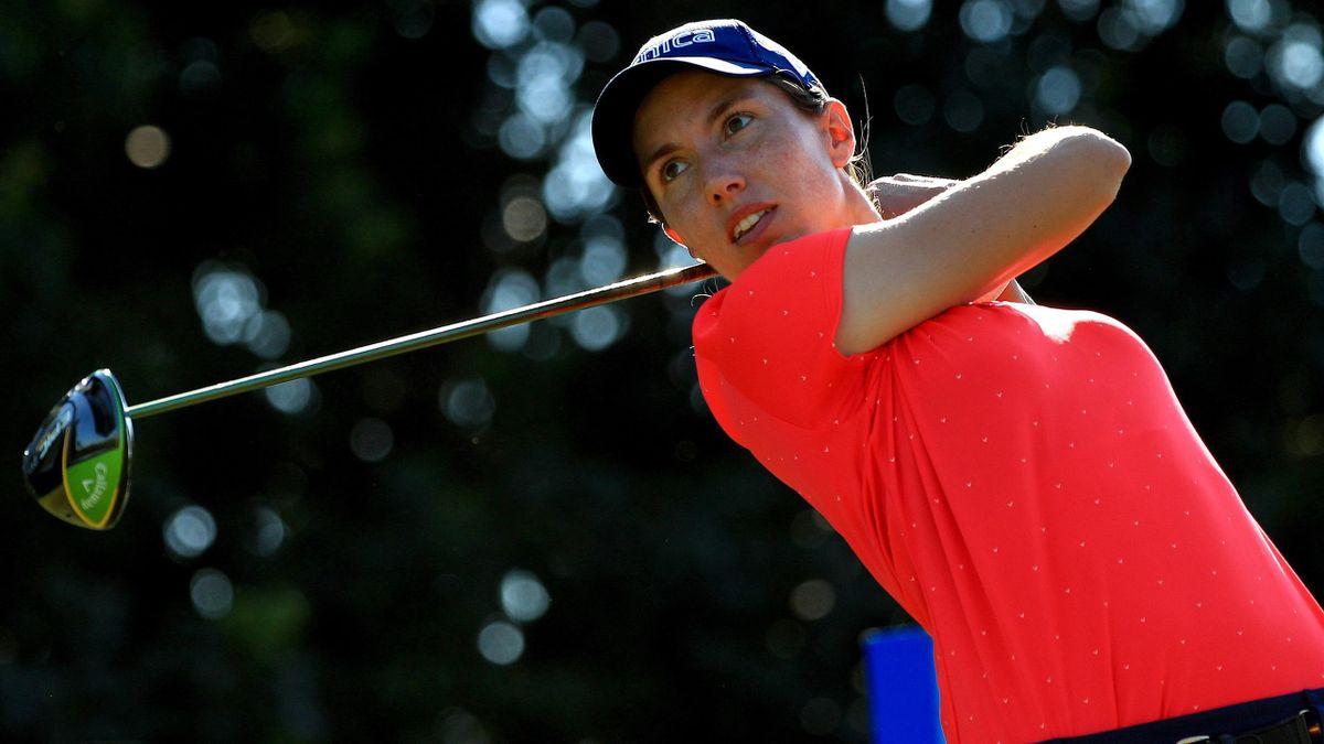 Carlota Ciganda, jugadora española de golf