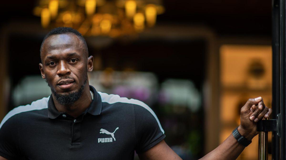Stolzer Papa: Usain Bolt wurde zum ersten Mal Vater
