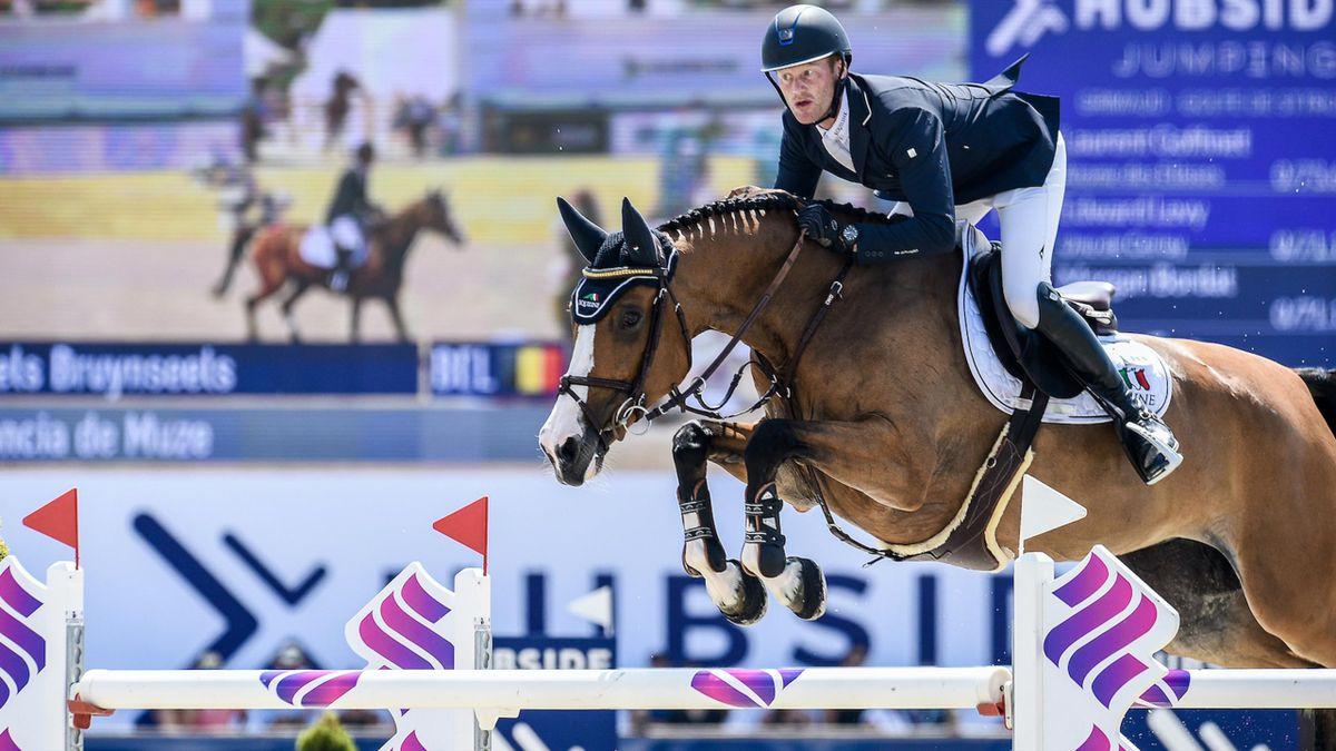 Victoria belga en la final del Grand Prix Hubside Jumping en Grimaud
