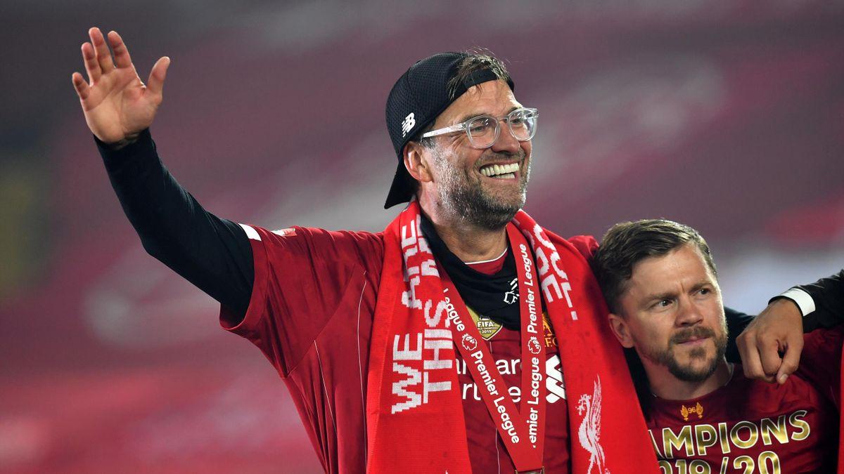 Jürgen Klopp wurde zum Manager des Jahres gekürt