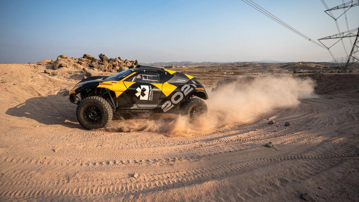 Teste do Extreme-E em Jeddah, Arábia Saudita 2020 (DR)