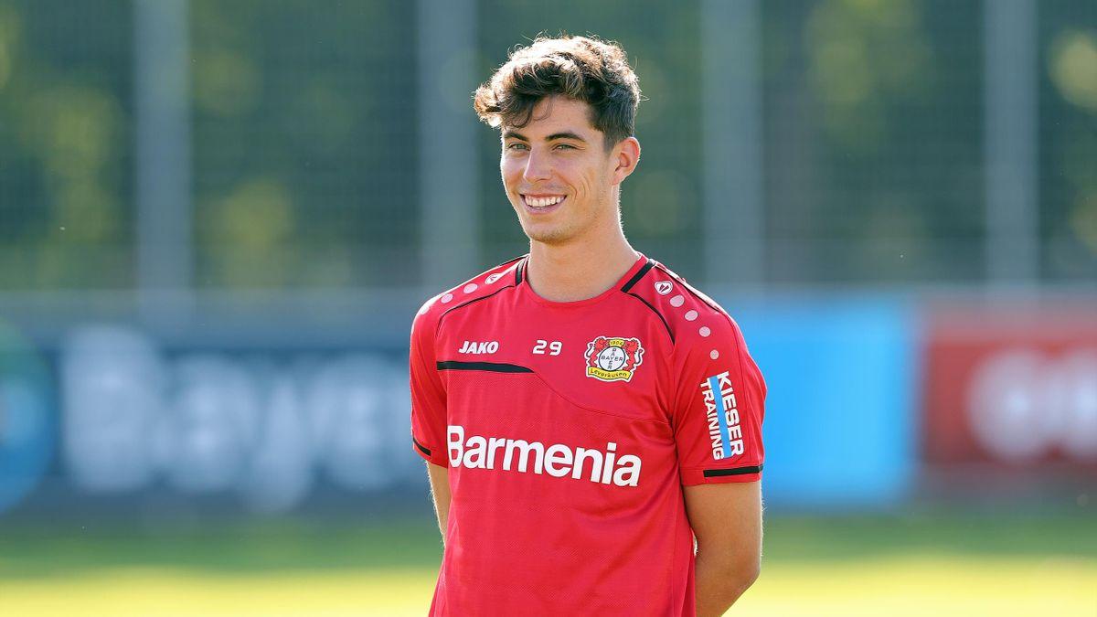 Kai Havertz, starul lui Bayer Leverkusen