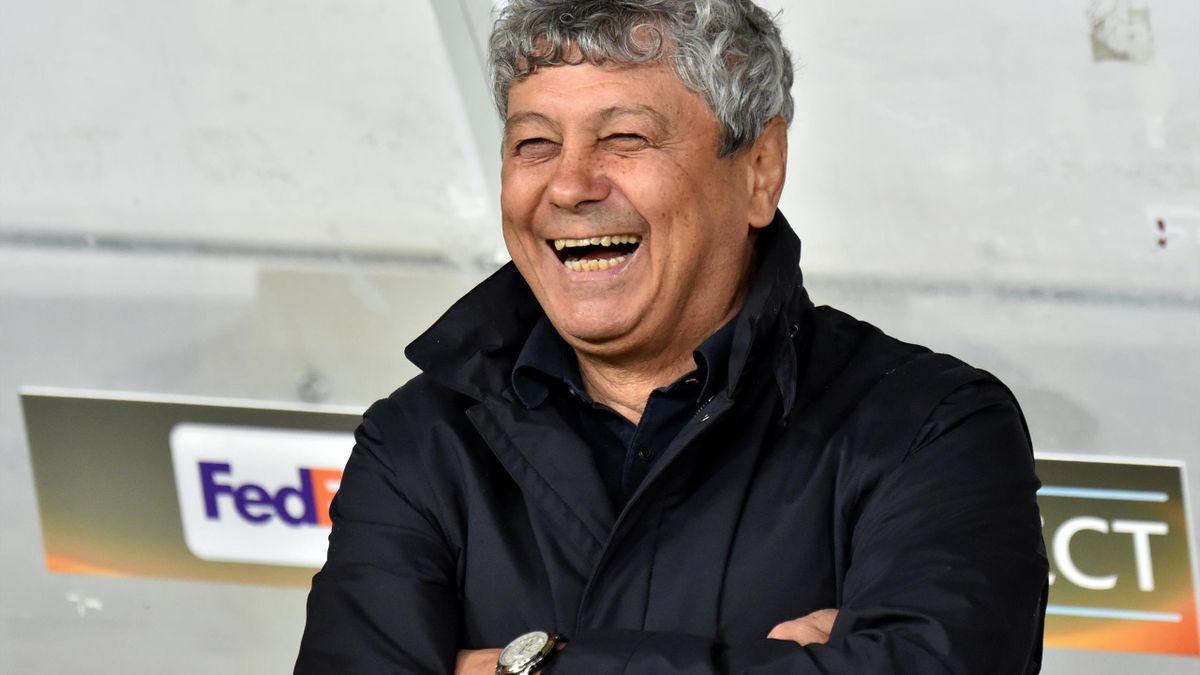 Mircea Lucescu, tehnicianul lui Dinamo Kiev