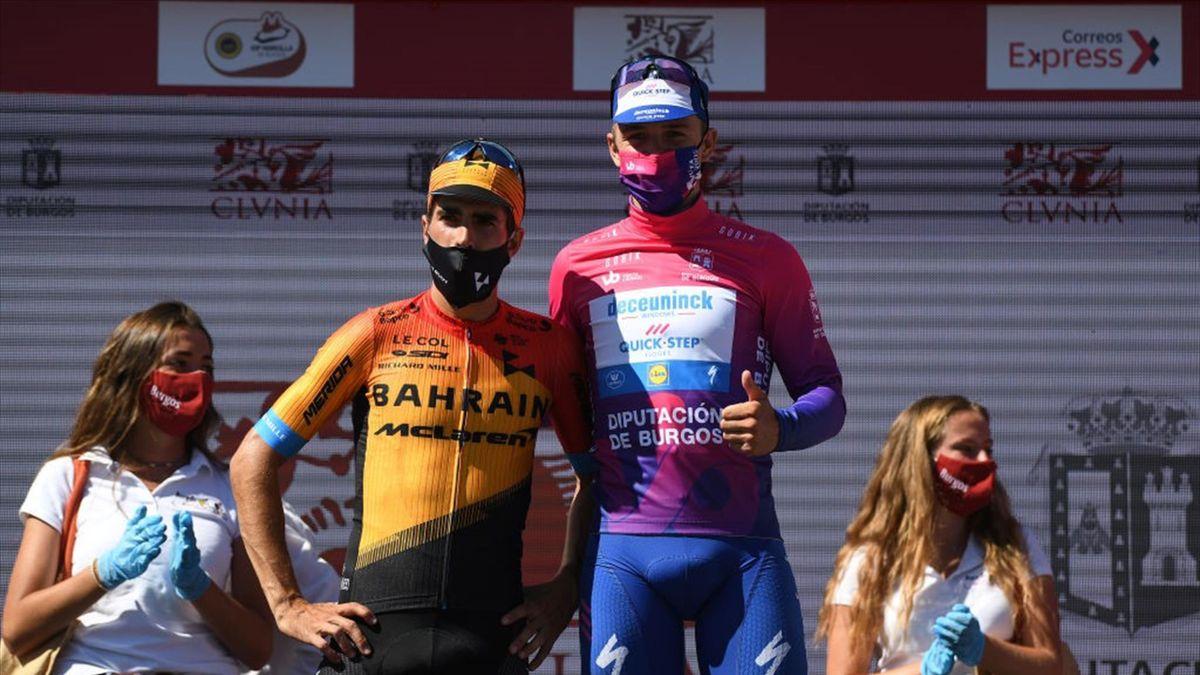 Evenepoel en la Vuelta a Burgos