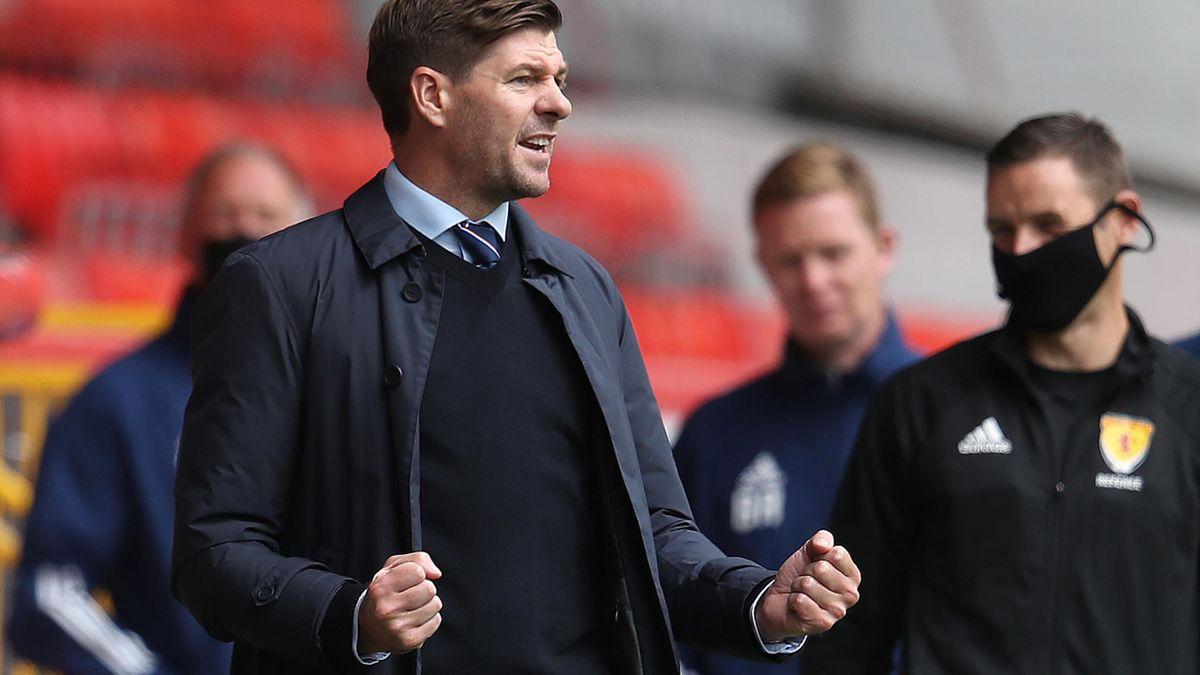 Steven Gerrard, managerul lui Rangers