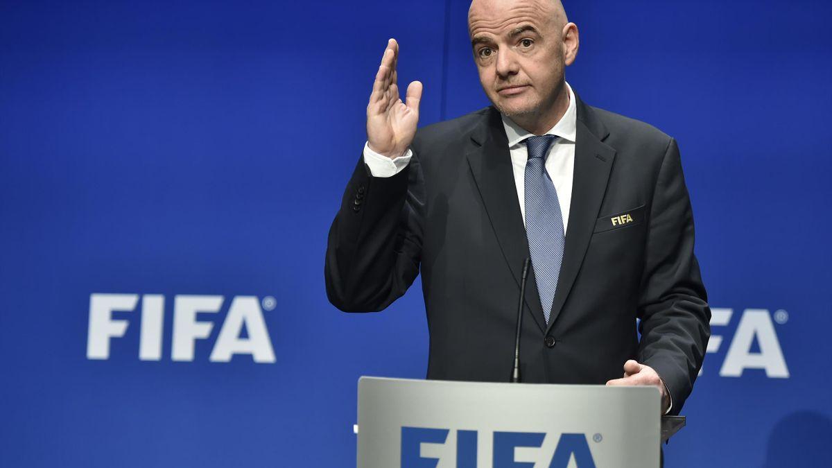 Gianni Infantino, Președintele FIFA