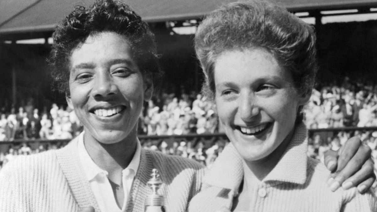 Angela Buxton Althea Gibson