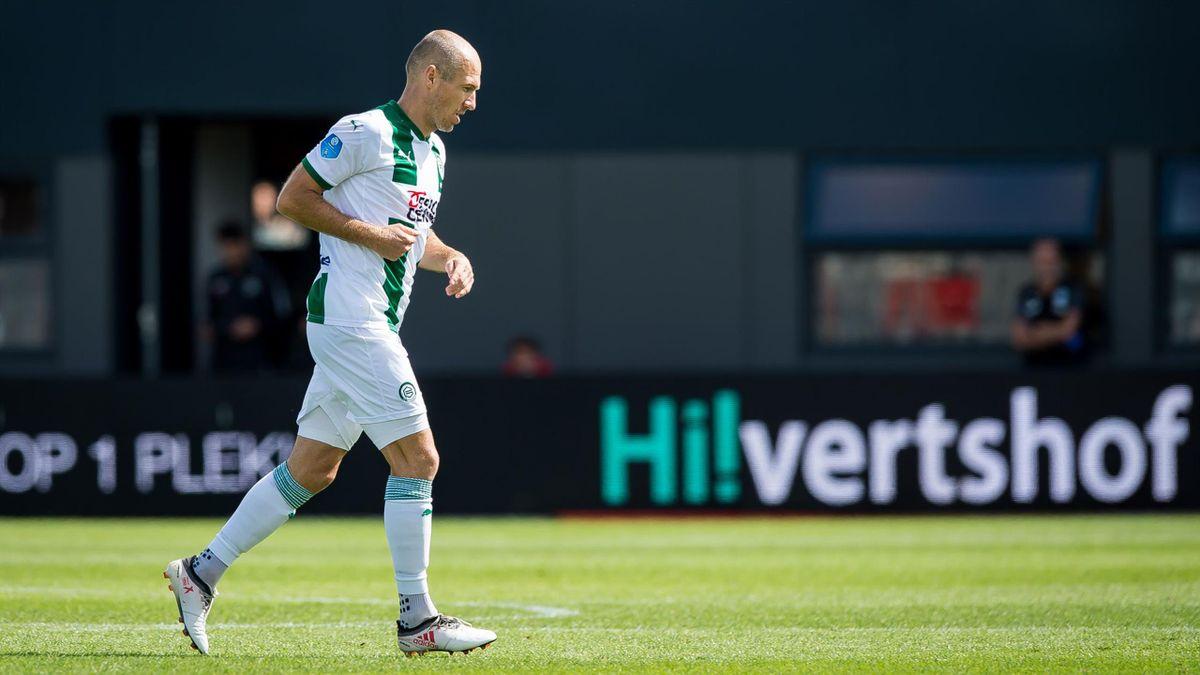 Arjen Robben, jucătorul lui Groningen