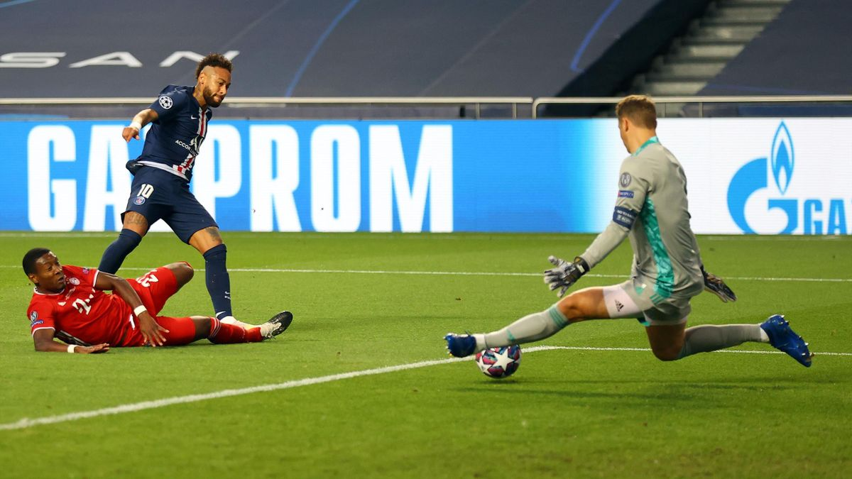Watch Manuel Neuer's double Neymar save against PSG in Champions ...