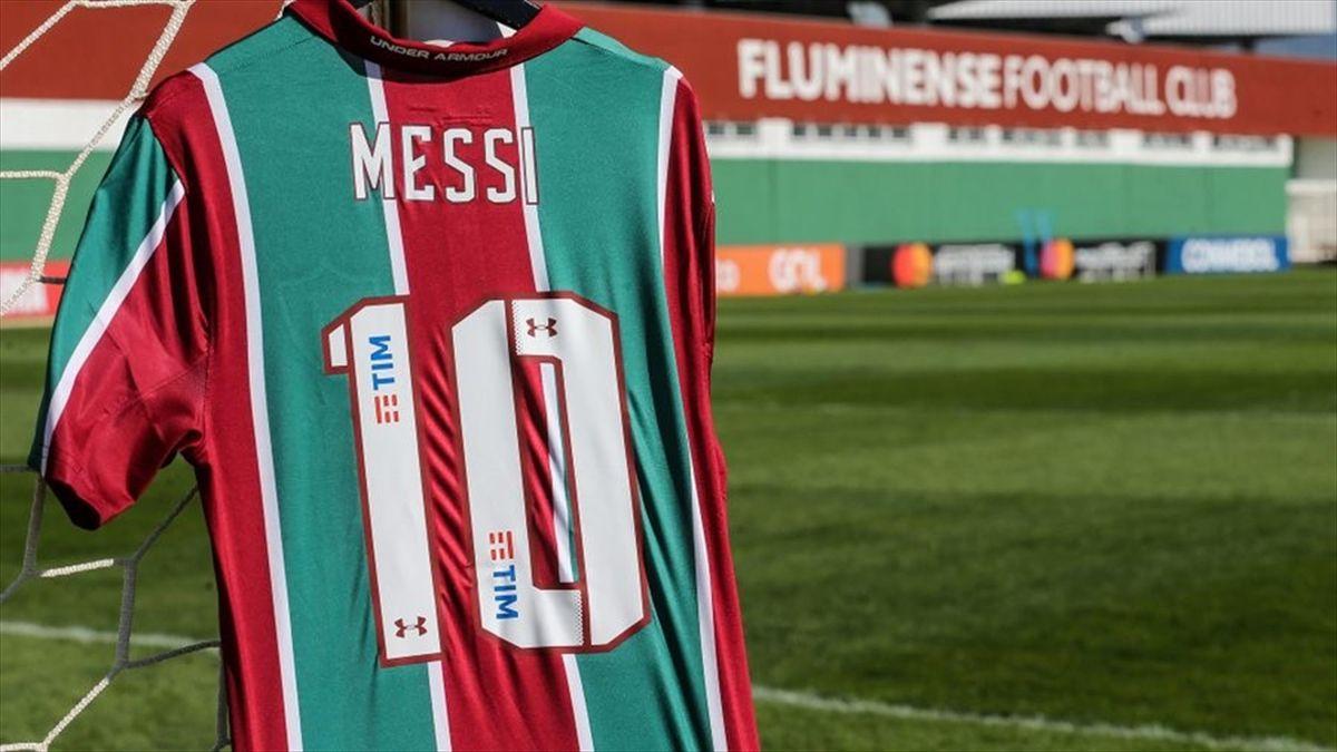 La camiseta de Leo Messi en Fluminense