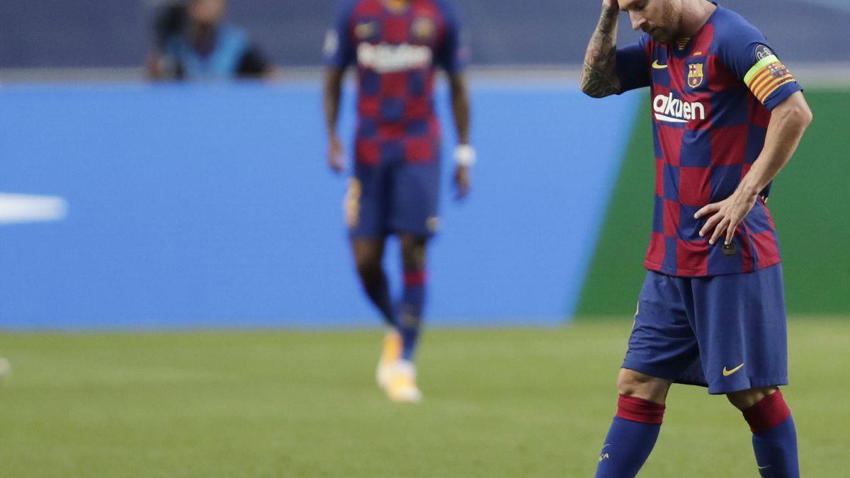 Lionel Messi, aproape de despărțirea de Barcelona