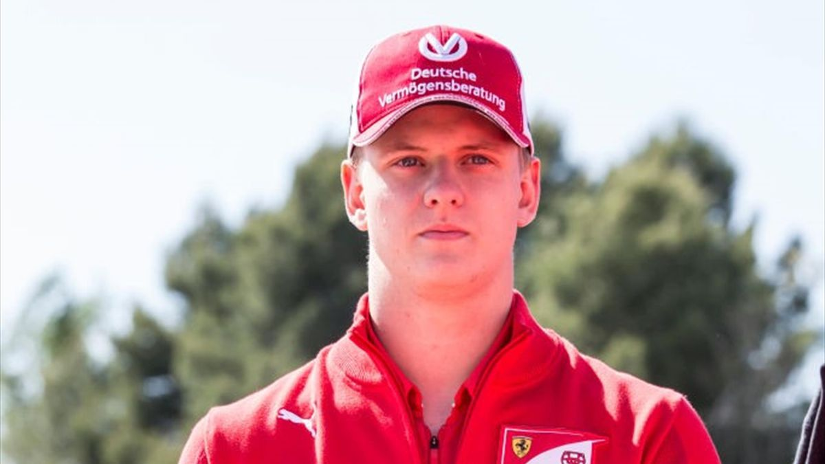 2019/05/09: Mick Schumacher of Germany and Ferrari walks in the Paddock during previews ahead of the F1 Grand Prix of Spain