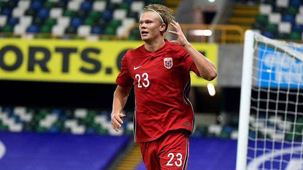 Haaland despereza a Noruega - Eurosport