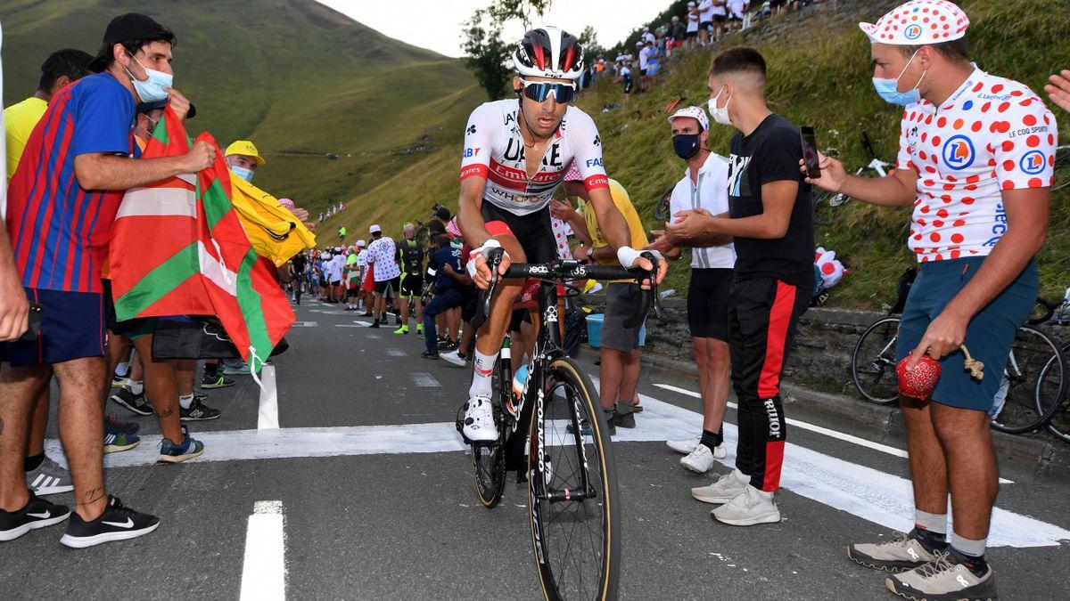 Fabio Aru, en el Tour de Francia 2020