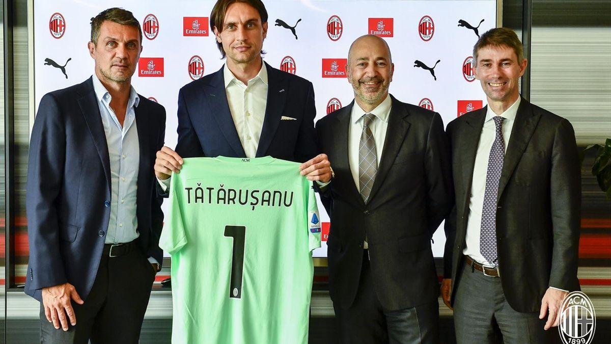 Tătărușanu la AC Milan