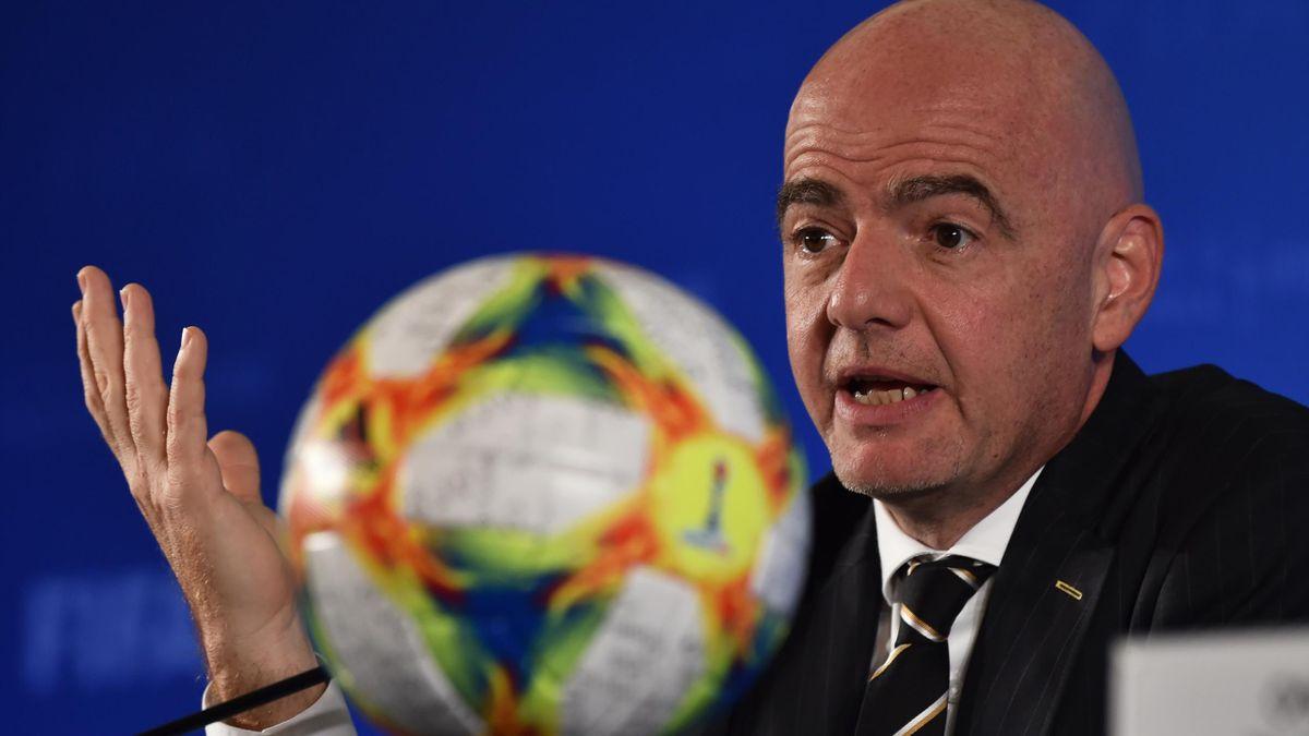Giani Infantino, președintele FIFA