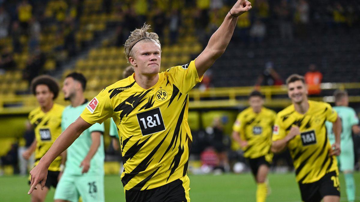 Erling Haaland, starul Borussiei Dortmund
